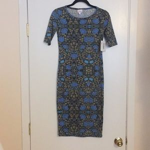 XXS LuLaRoe Julia Dress D06 827